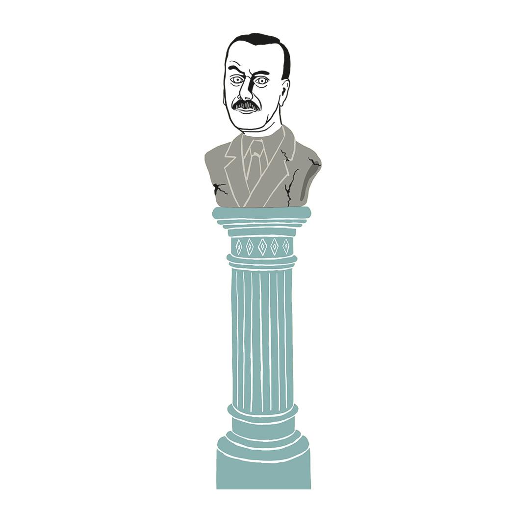 sabinekuehn-illustration-duesseldorf-thomas-mann-betrachtungen-eines-politischen