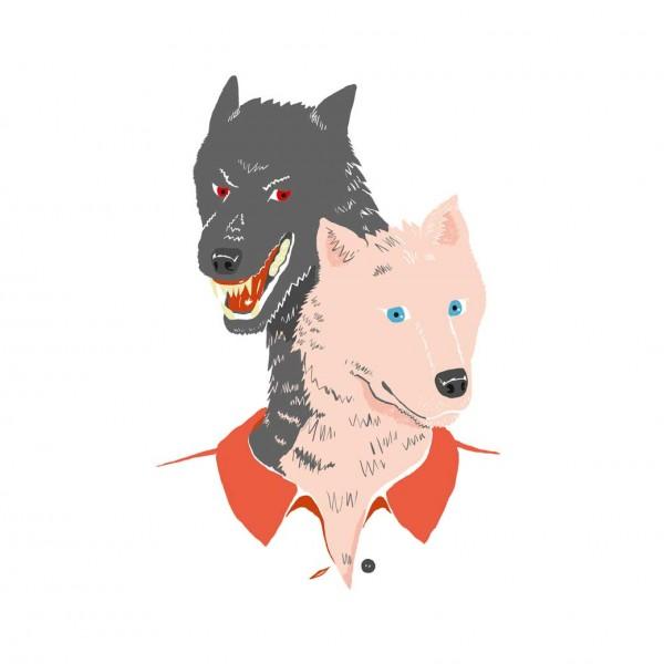 Guter und böser Wolf