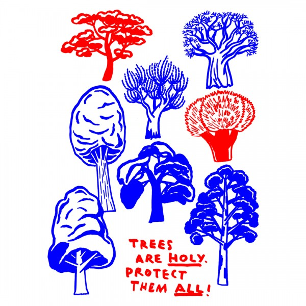 Trees are holy