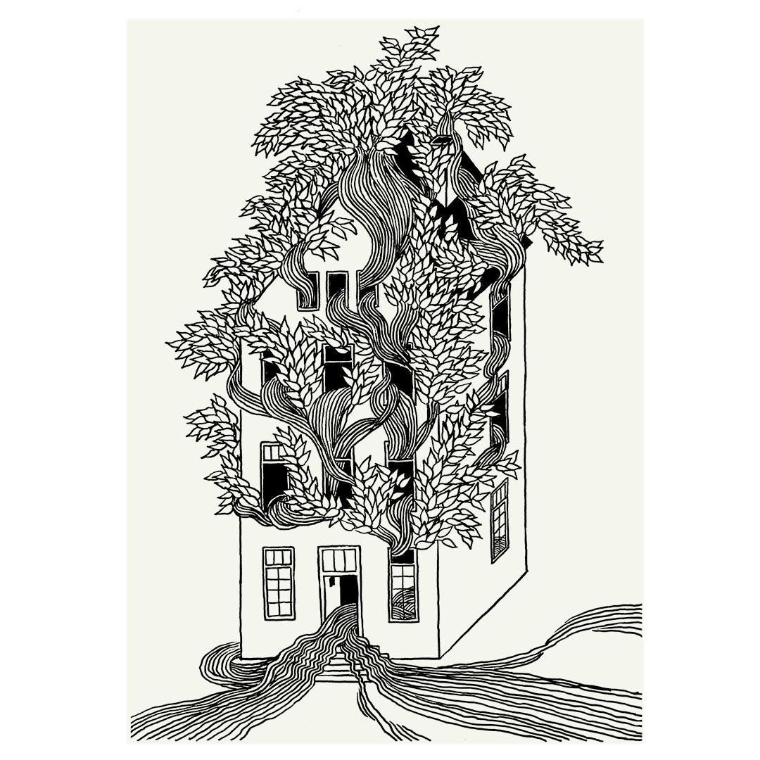 sabinekuehn-illustration-duesseldorf-nature-is-stronger