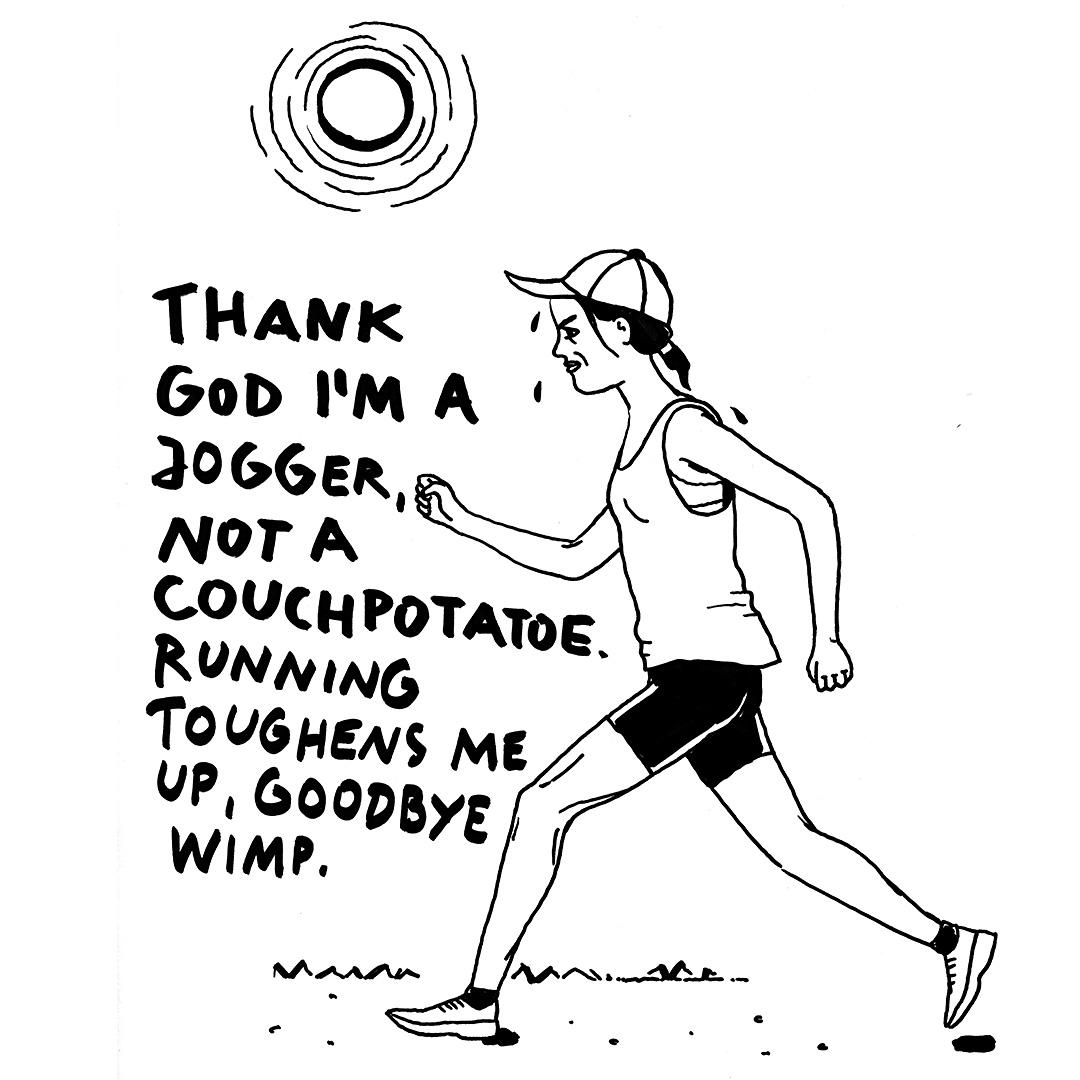sabinekuehn-illustration-duesseldorf-jogger